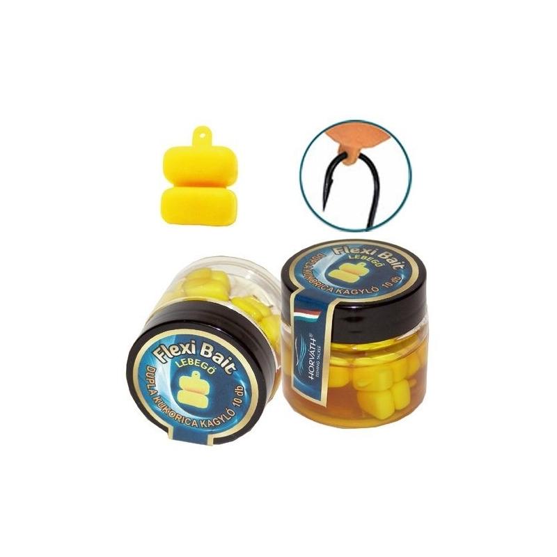 Horvath - Momeala artificiala Flexi Bait - Porumb 2 boabe - Scoica