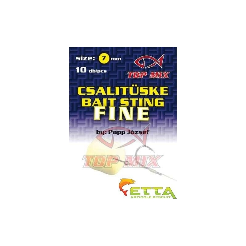 Top Mix - Tepuse momeala Fine -Bait Sting- 7mm 10buc plic
