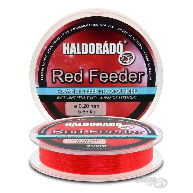 Haldorado - Fir Red Feeder 0.18mm 300m - 4,55kg