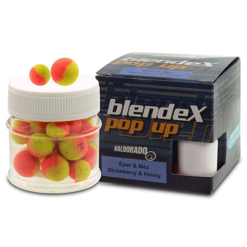 Haldorado - Blendex Pop Up Method 8, 10mm - Capsuna+Miere - 20g