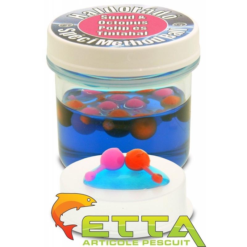 Haldorado - Momeala artificiala SpeciMethod Ball - Squid si Octopus 12boabe cutie