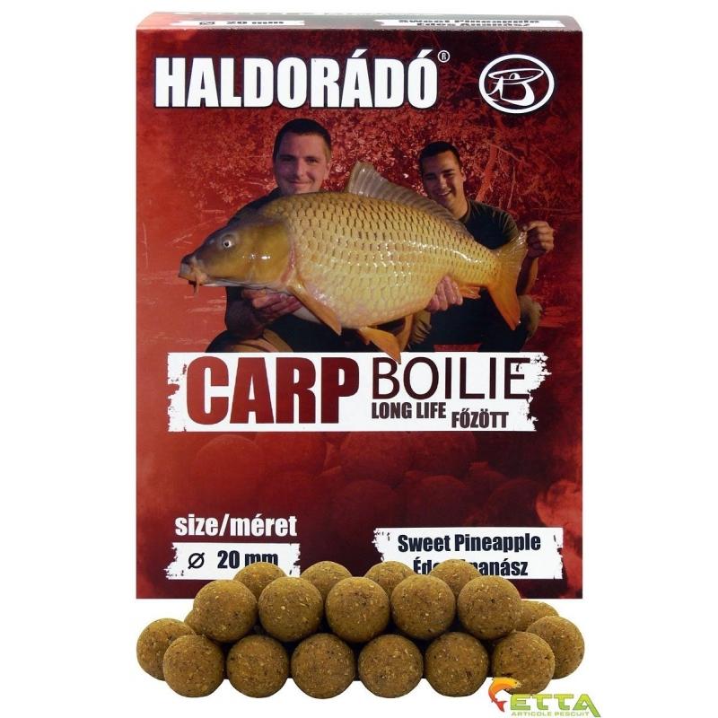 Haldorado - Carp Boilie Long Life Sweet Pineapple 800g 20mm