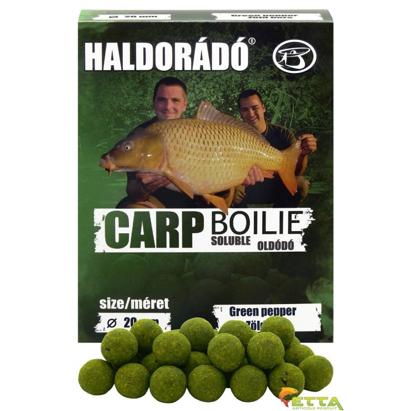 Haldorado - Carp Boilie Soluble Green Pepper 800g 20mm