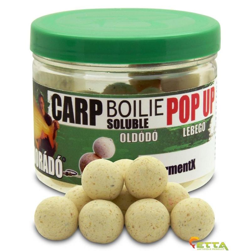 Carp Boilie Soluble Pop Up FermentX 40g 16mm