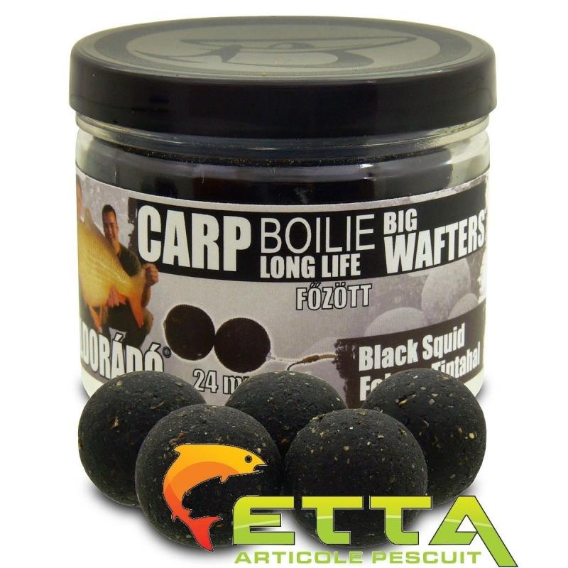 Haldorado - Carp Boilie Big Wafters Black Squid 70g 24mm