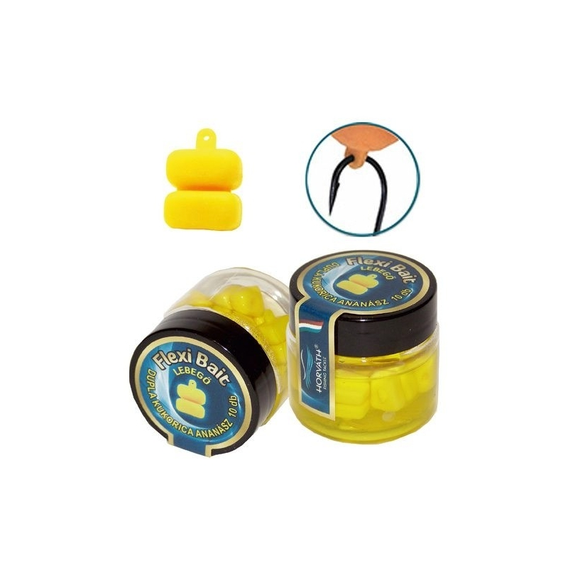 Horvath - Momeala artificiala Flexi Bait - Porumb 2 boabe - Ananas