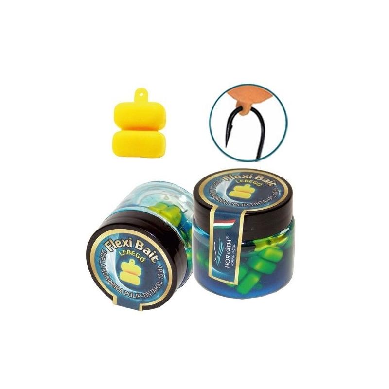 Horvath - Momeala artificiala Flexi Bait - Porumb 2 boabe - Squid