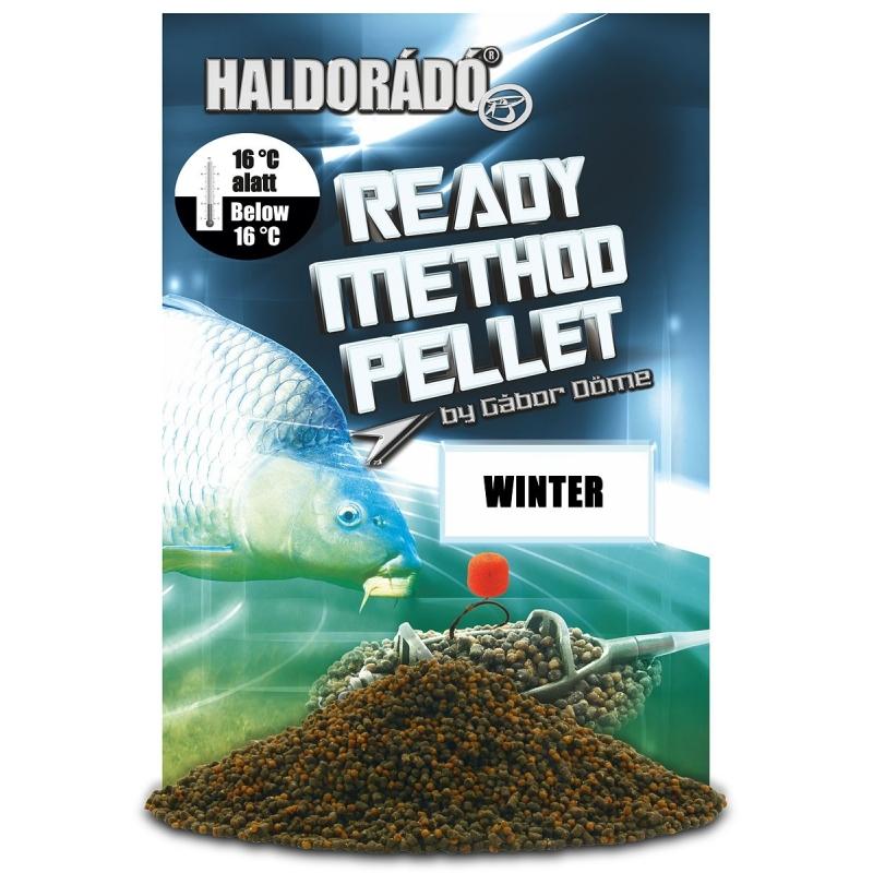 Haldorado - Ready Method Pellet - Winter 0.4kg, 2-3 mm