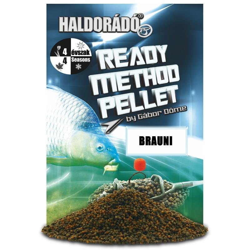 Haldorado - Ready Method Pellet - Brauni 0.4kg, 2-3 mm