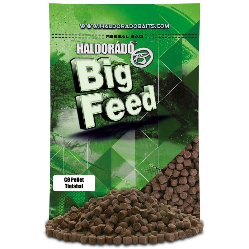 Haldorado - Big Feed - C6 Pellet - Squid 0.9kg, 6 mm