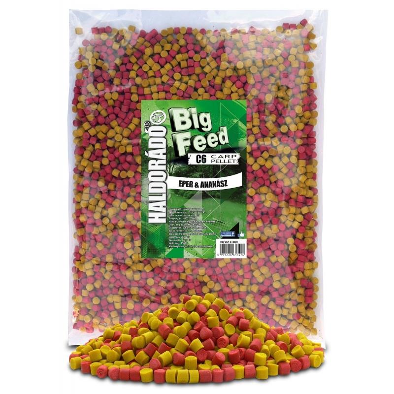 Haldorado - Big Feed - C6 Pellet - Capsuna  Ananas 2.5kg, 6 mm