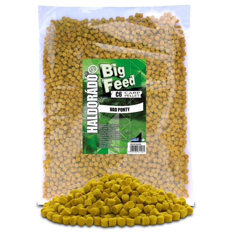 Haldorado - Big Feed - C6 Pellet - Crap Salbatic 2.5kg, 6 mm