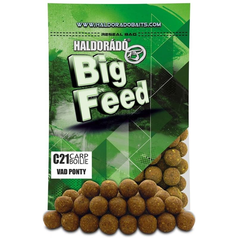 Haldorado - Big Feed - C21 Boilie - Crap Salbatic 0.8kg, 21 mm