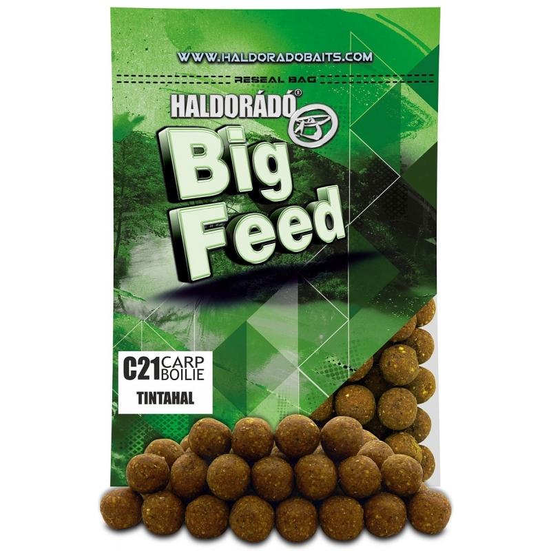 Haldorado - Big Feed - C21 Boilie - Squid 0.8kg, 21 mm