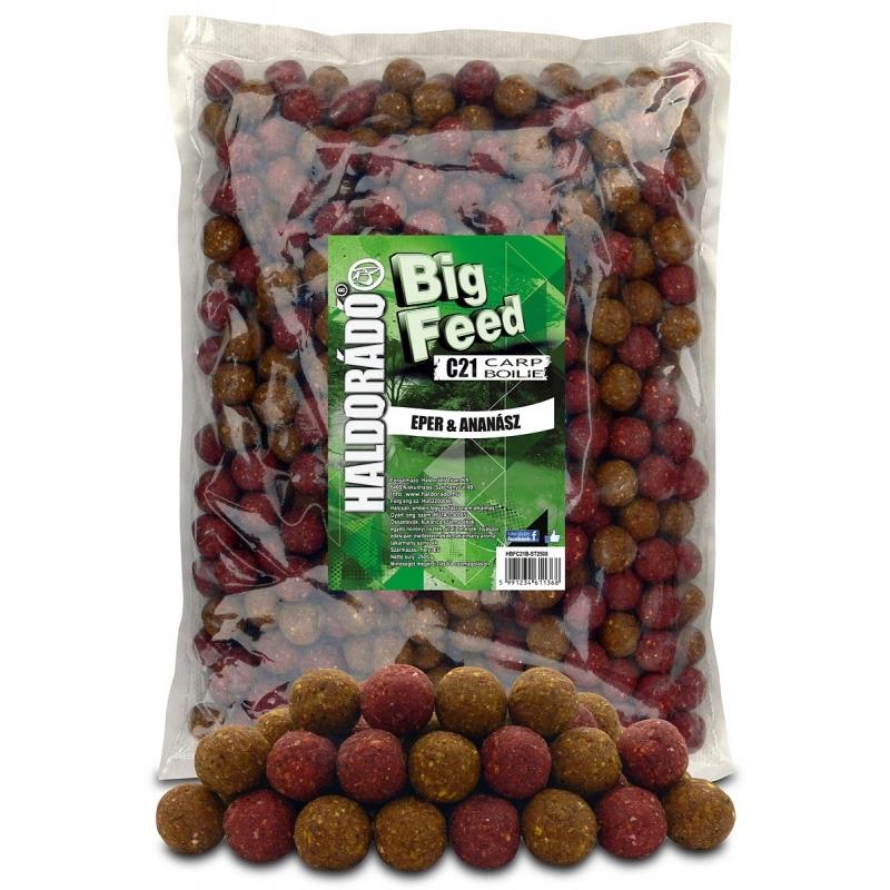 Haldorado - Big Feed - C21 Boilie - Capsuna  Ananas 2.5kg, 21 mm