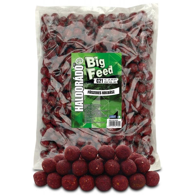 Haldorado - Big Feed - C21 Boilie - Carnat Condimentat 2.5kg, 21 mm