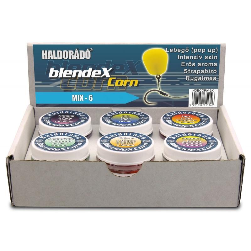 Haldorado - Momeala artificiala BlendexCorn - Mix-6 10boabe cutie