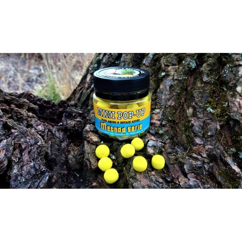 Timar - Momeala flotanta Method Mini Pop Up - Ananas Acid N-Butyric 11mm (35g)