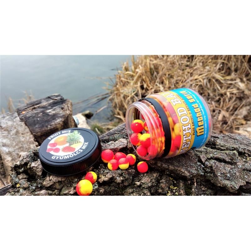 Timar - Pelete flotant  Method Balls - Fruit Mix 7-9 mm (35g)