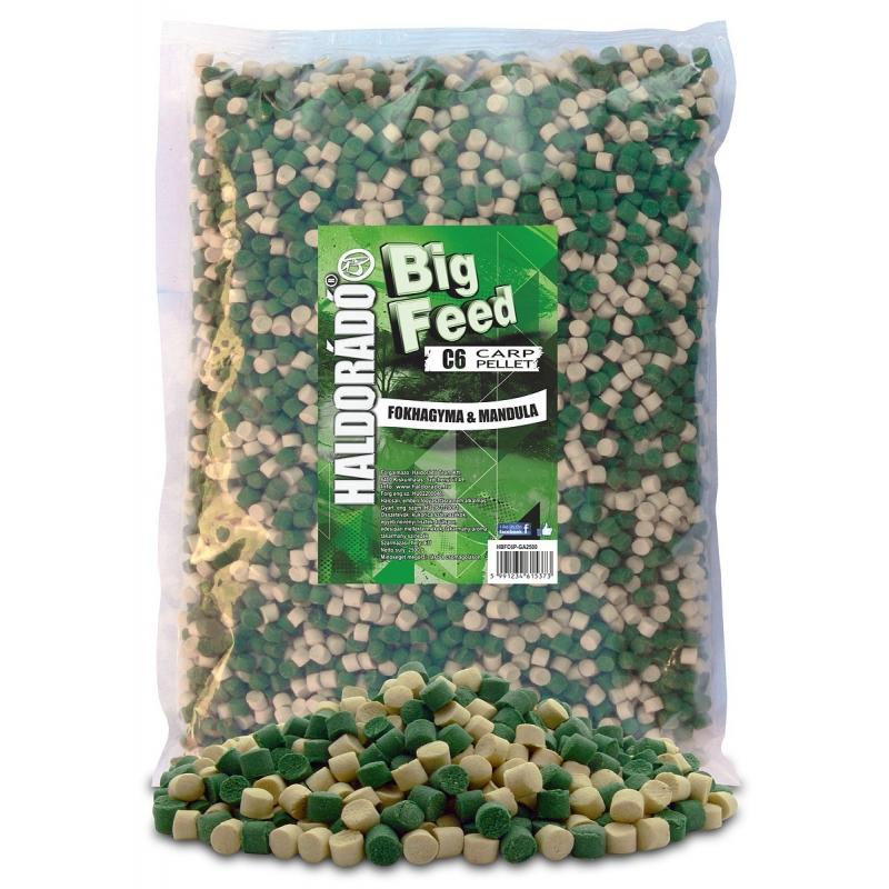 Haldorado - Big Feed - C6 Pellet - Usturoi  migdale 2.5kg, 6 mm