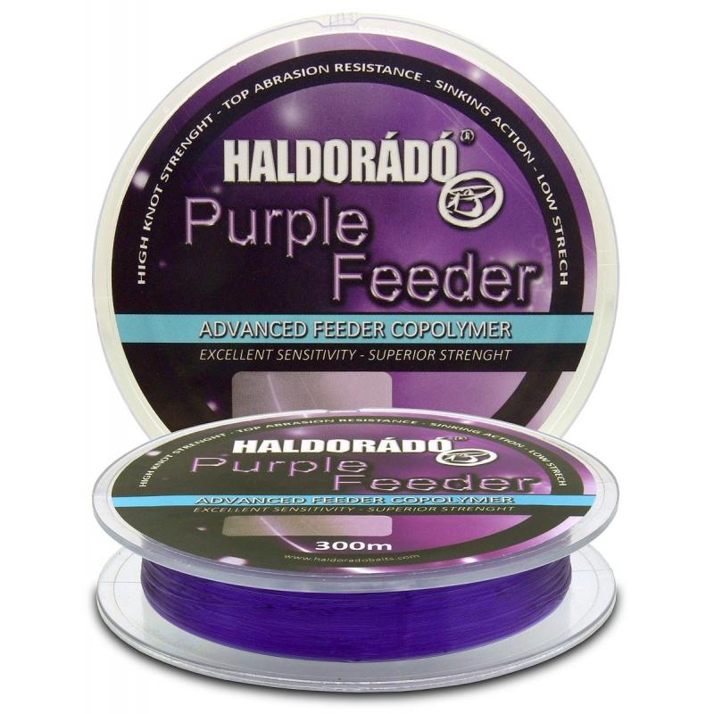Haldorado - Fir Purple Feeder 0.30mm 300m - 9.85kg