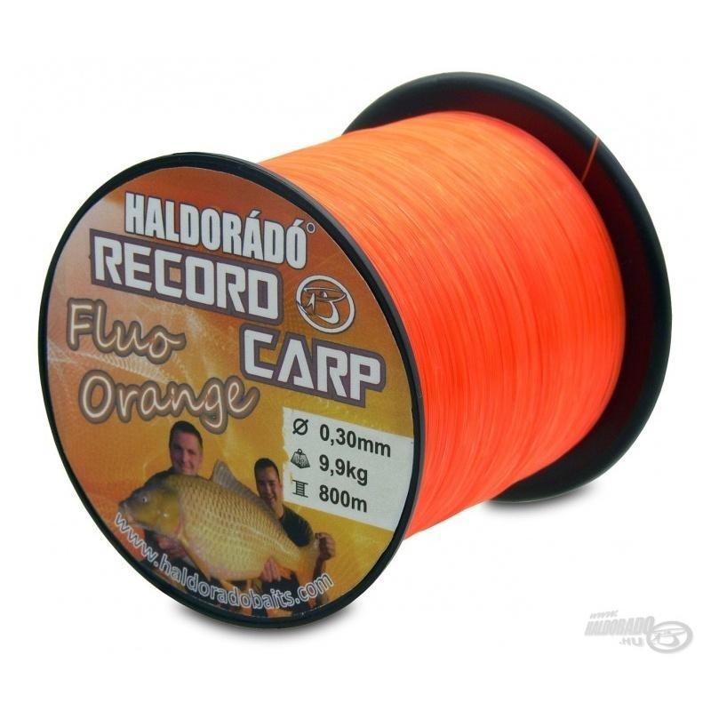 Haldorado - Fir Record Carp Fluo Orange 0,30mm 800m - 9,9kg