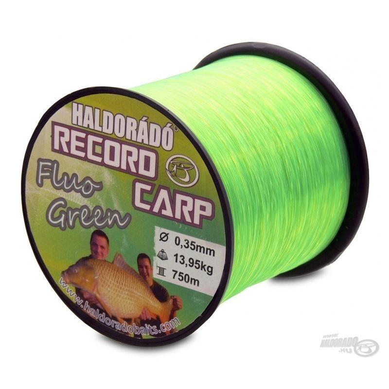 Haldorado - Fir Record Carp Fluo Green 0,35mm 750m - 13,95kg
