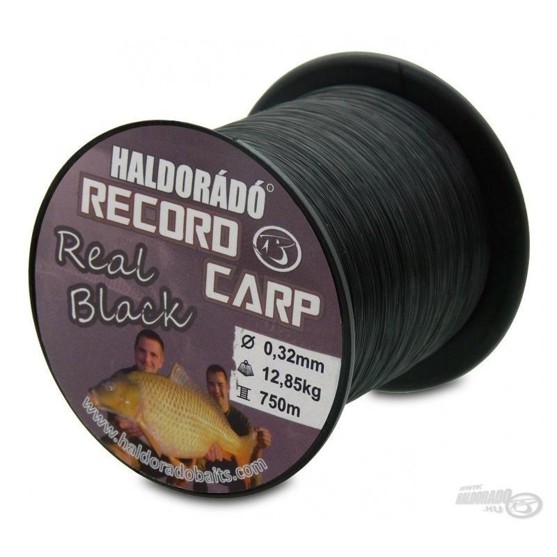 Haldorado - Fir Record Carp Real Black 0,27mm 800m - 9,75kg