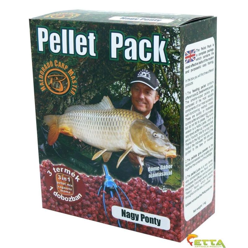 Haldorado - Pellet Pack Crap Mare 1Kg