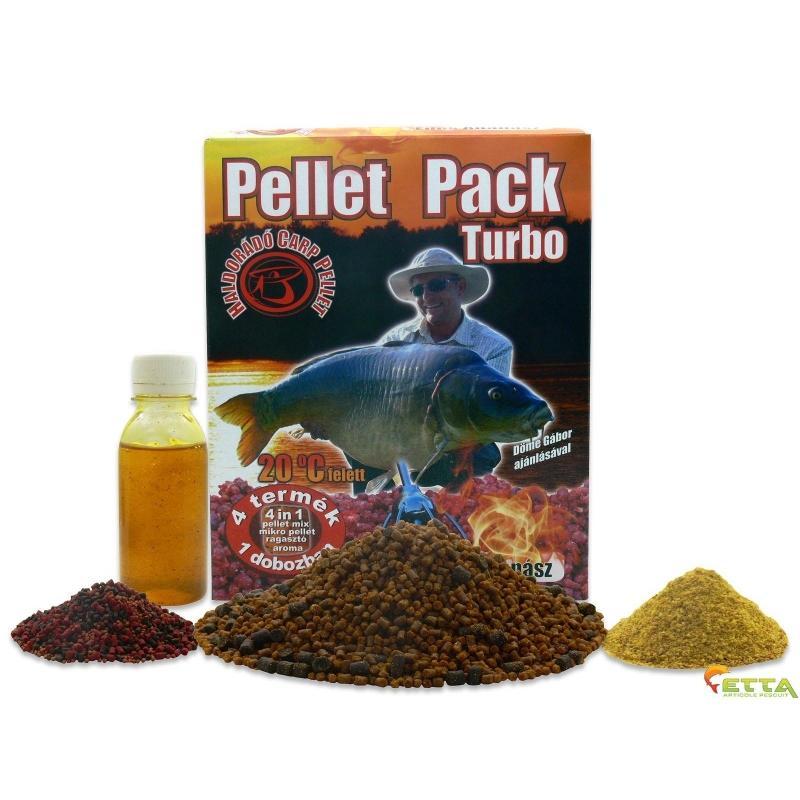 Haldorado - Pellet Pack Turbo Ananas Dulce 1.1Kg