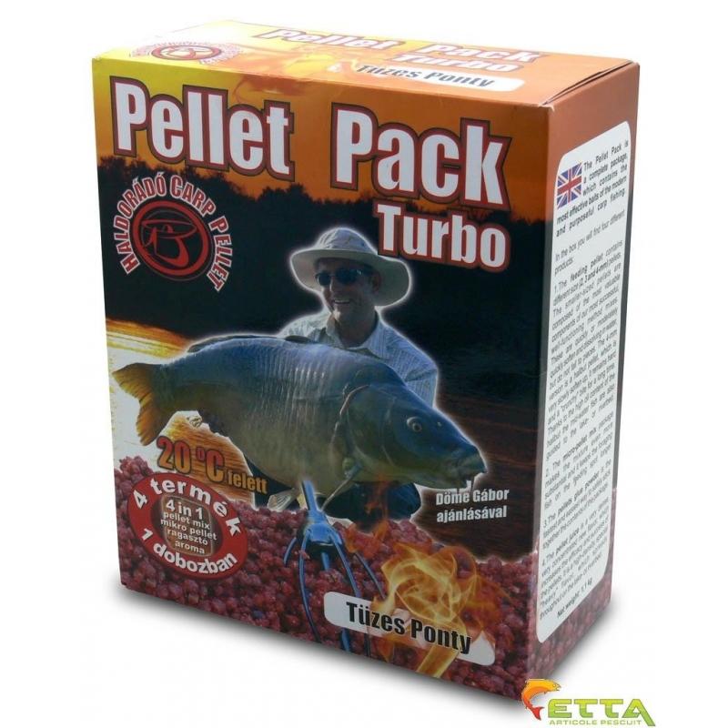 Haldorado - Pellet Pack Turbo Crap Apa Calda 1.1Kg