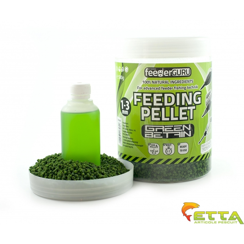 Timar - Micro Pelete Feeding Pellet Green Betain (500g) + Aroma (100ml)