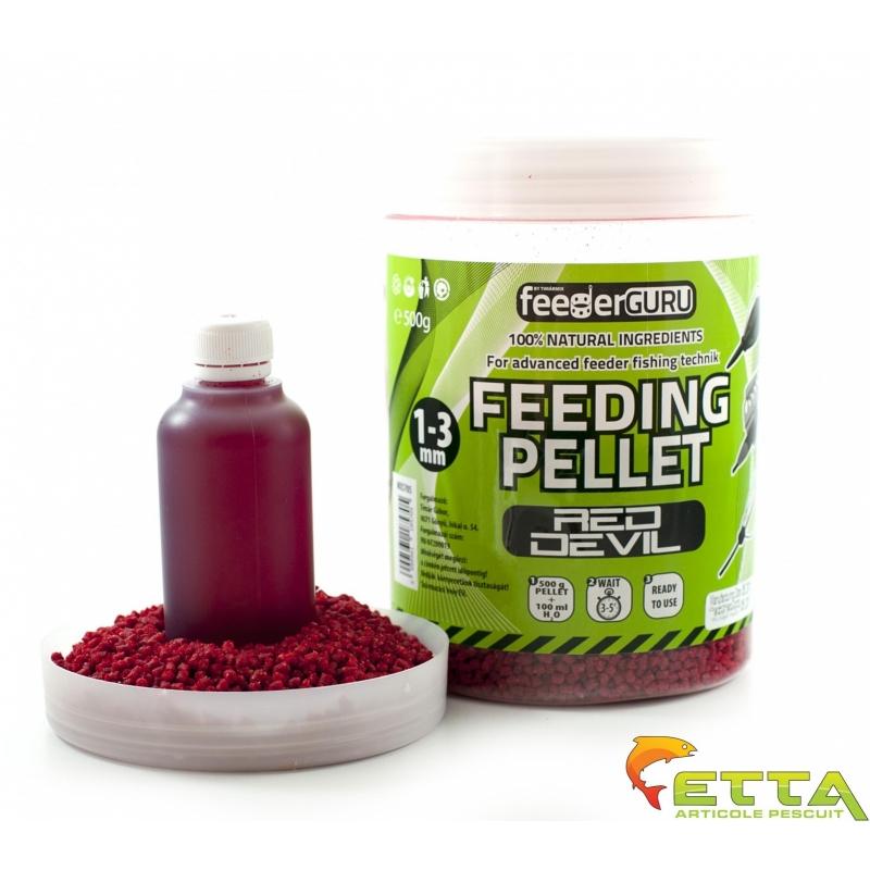Timar - Micro Pelete Feeding Pellet Red Devil (500g) + Aroma (100ml)