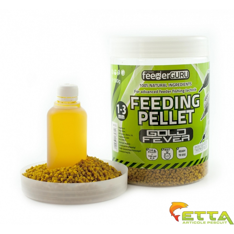 Timar - Micro Pelete Feeding Pellet Gold Fever (500g) + Aroma (100ml)