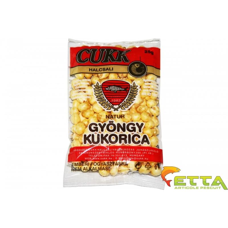 Cukk - Porumb expandat - Natur (alb)