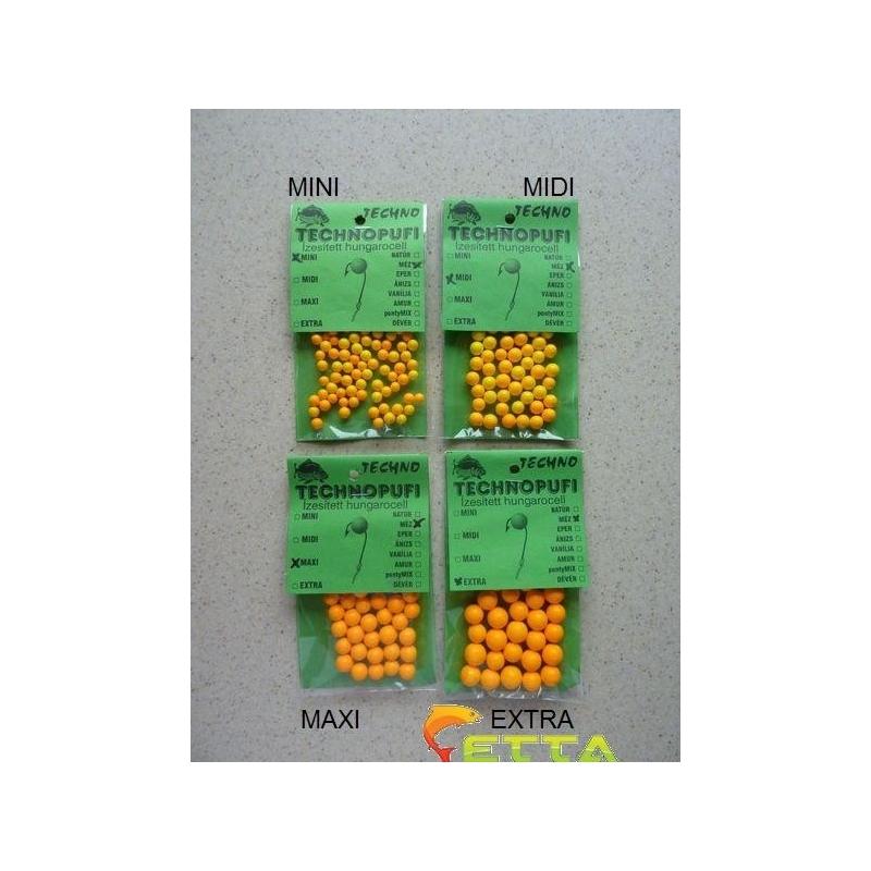 Technopufi Miere (portocaliu) extra