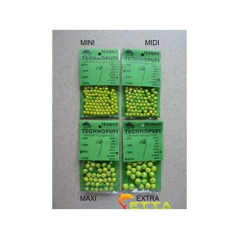 Technomagic - .Technopufi Amur (verde+galben) mini
