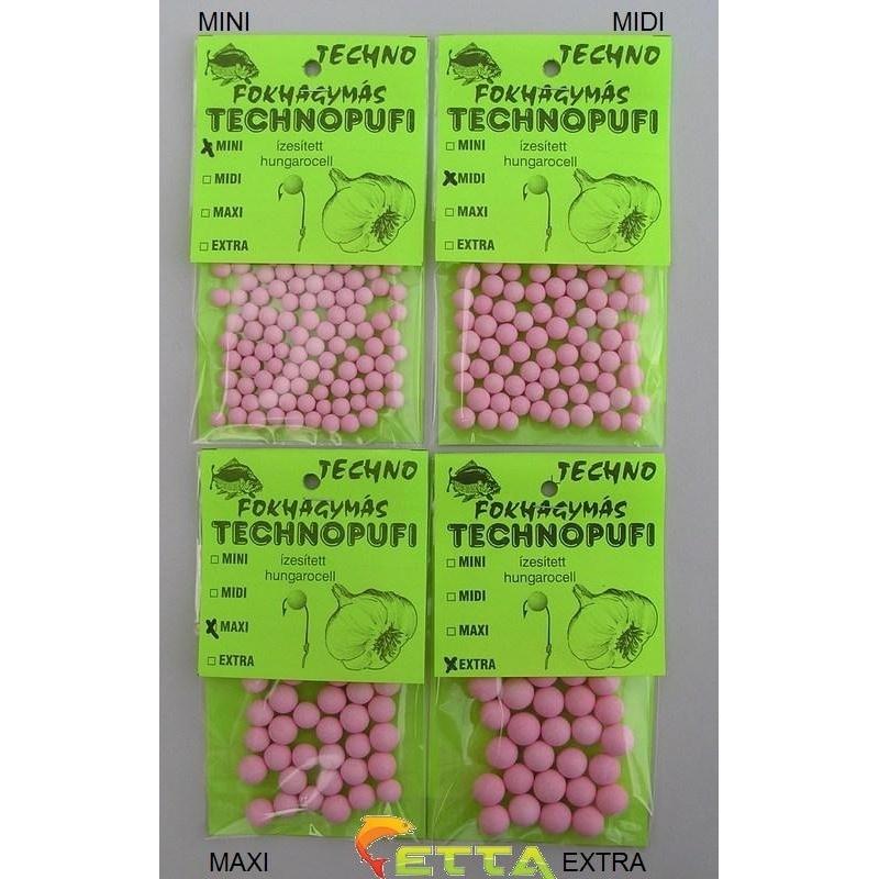 Technopufi Usturoi (roz) extra