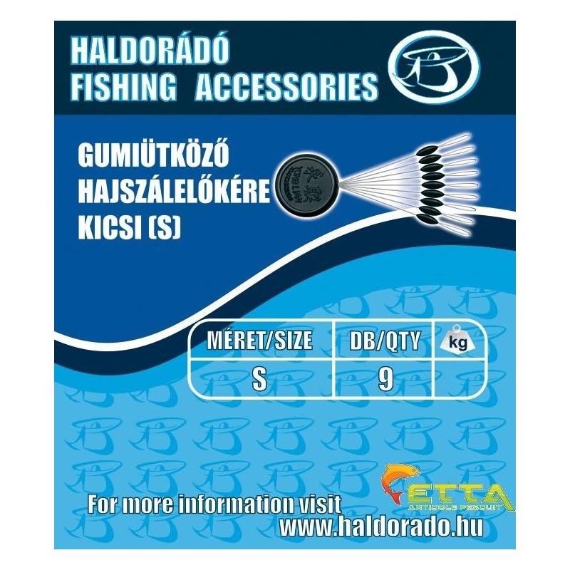 Haldorado - Opritor cauciuc fir de par - mic(S)