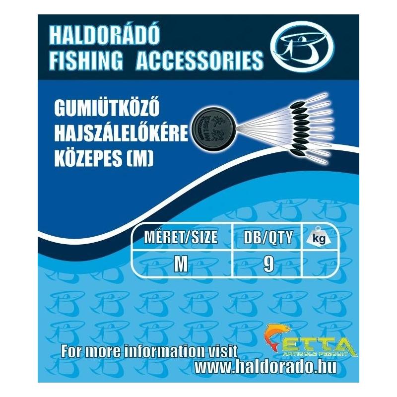 Haldorado - Opritor cauciuc fir de par - mediu(M)