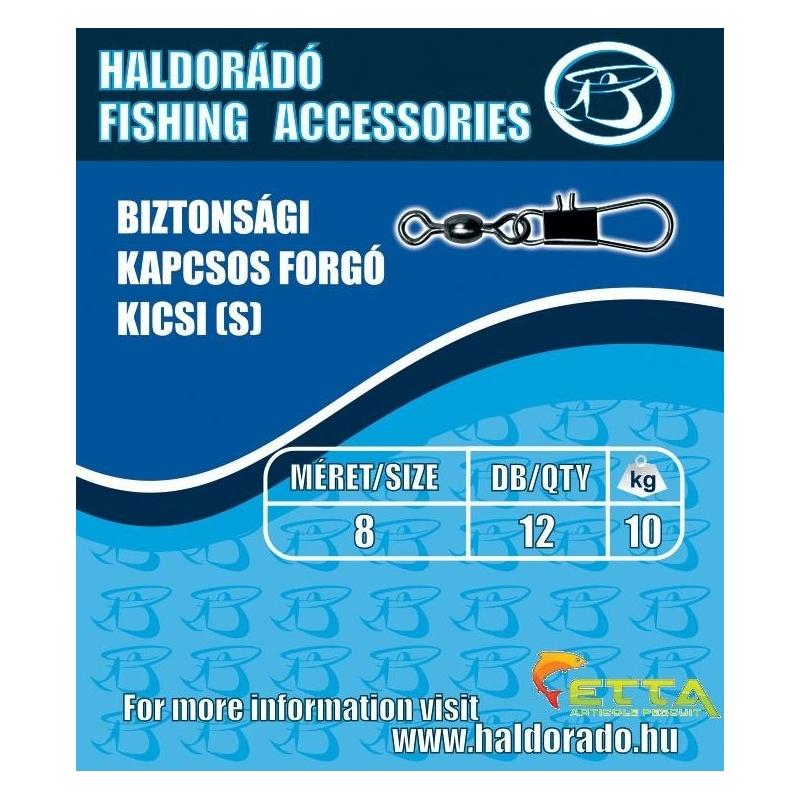 Haldorado - Vartej inchizatoare de siguranta - mic(S) 12buc/plic