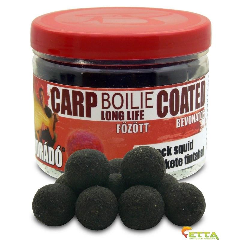 Haldorado - Carp Boilie Long Life Coated Black Squid 70g 18mm