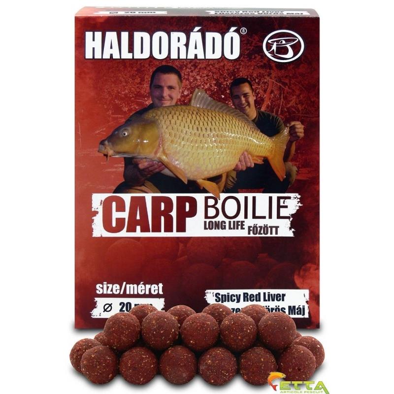 Haldorado - Carp Boilie Long Life Spicy Red Liver 800g 20mm