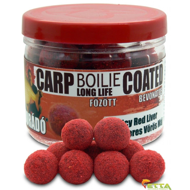 Haldorado - Carp Boilie Long Life Coated Spicy Red Liver 70g 18mm