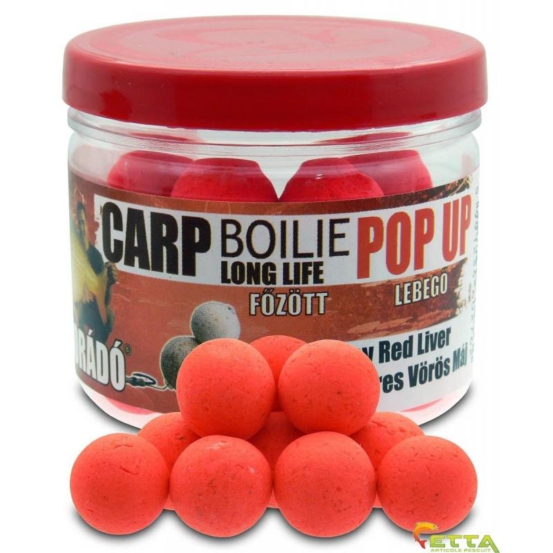Haldorado - Carp Boilie Long Life Pop Up Spicy Red Liver 40g 16mm