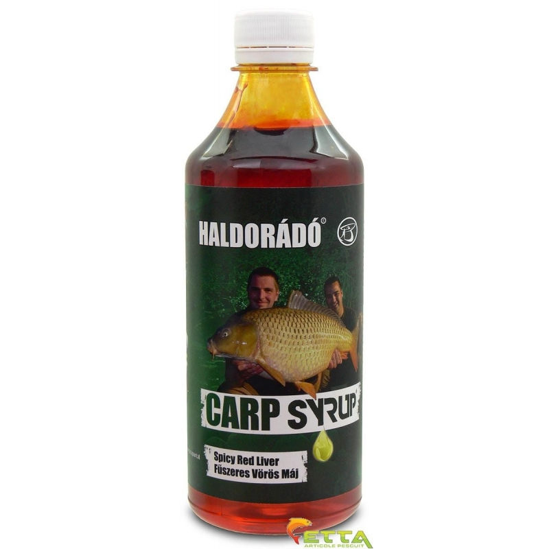 Haldorado - Carp Syrup Spicy Red Liver 500ml