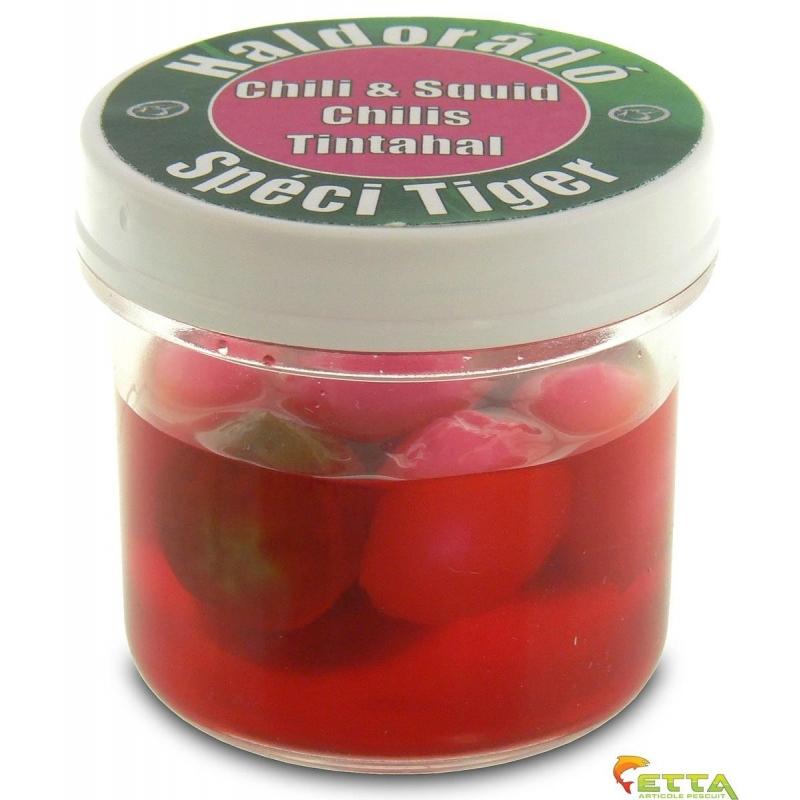 Haldorado - Momeala artificiala SpeciTiger - Chili  Squid 8boabe cutie