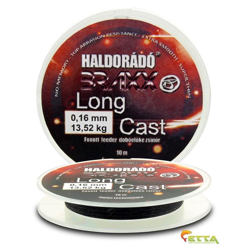 Haldorado - Braxx Long Cast - Fir textil feeder de inaintas pt lansat 0,16mm 10m - 13,52kg