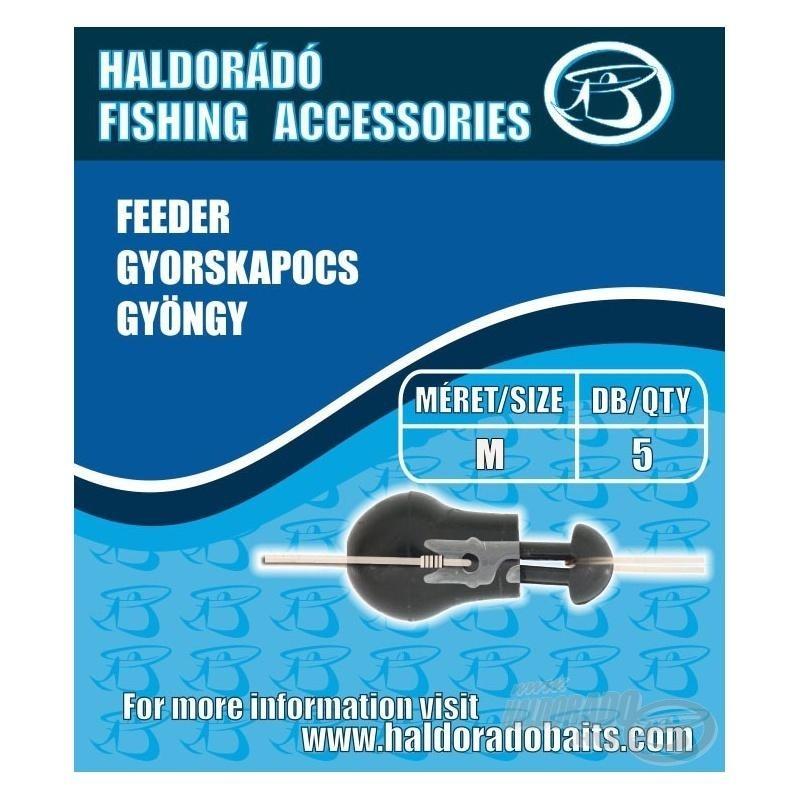 Haldorado - Agrafa rapida feeder cu bila (M)