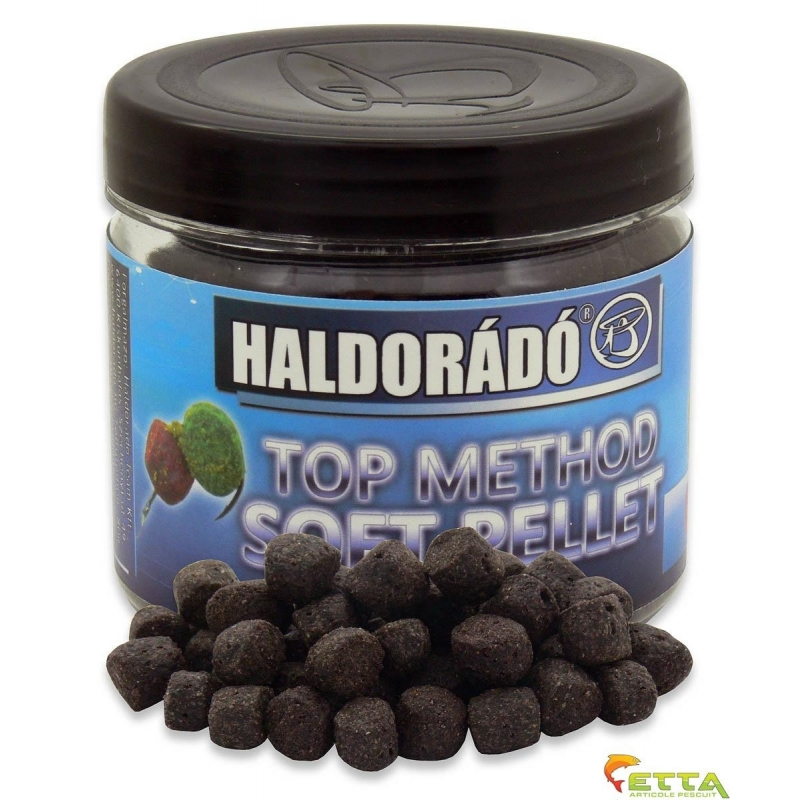 Haldorado - Pelete de carlig  Top Method Soft Pellet Carp Berry 80g